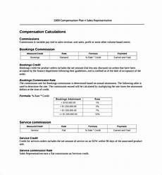 Sales Compensation Plan Template Free 18 Sample Compensation Plan Templates In Pdf Ms