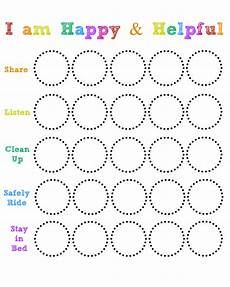 Sticker Chart For Toddler Behavior Happy And Helpful Chart Living On Love With Images