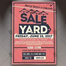 Garage Sale Flyers Examples Yard Garage Sale Premium Flyer Psd Template Psdmarket
