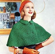 stricken cape womens knitted cape pattern with breasted closure