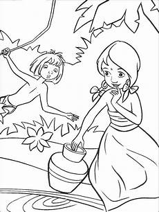 jungle book coloring pages and print jungle book