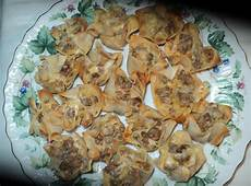 sausage wonton appetizers recipe just a pinch recipes