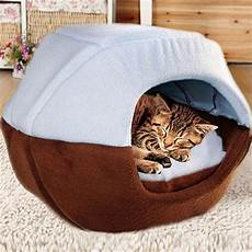 cozy pet cat cave mongolian yurt shaped house bed with