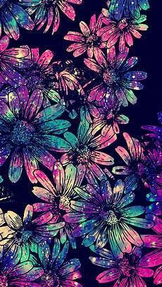 neon floral iphone wallpaper flores galaxias papel de parede gliter papeis de parede