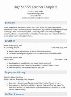 Resume Samples For Teacher Teaching Resume Sample Resume Com