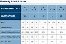 Old Navy Baby Size Chart Maternity Size Chart Motherhood Closet Maternity