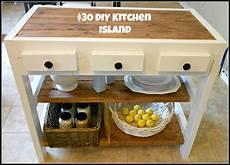 30 diy kitchen island in city - 30 Kitchen Island