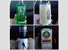 4 Star Wars Liquor Bottles Created In A Galaxy Far, Far