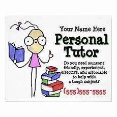 Tutoring Advertisement Personal Tutor Tutoring Study Help Promotional Flyer Zazzle