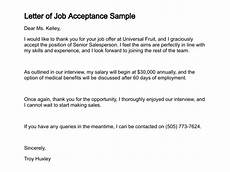 How To Write Job Acceptance Letter 10 How To Write A Job Acceptance Letter