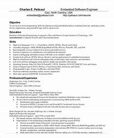 Resume Format Experienced Software Engineer Resume Format Experienced Software Enginer Doc