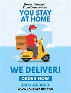 Delivery Flyer Template Home Delivery Service Flyer Template Postermywall