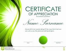 Powerpoint Certificate Of Appreciation Certificate Of Appreciation Template In Ppt