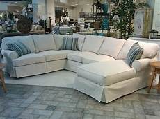 White Slip Covers For Furniture Sofa 3d Image by White Slipcovered Sectional Sofa
