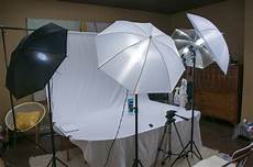 How To Use Umbrella Lights In Video Studio Lighting Product Photography White Object On
