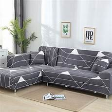 L Shaped Sectional Sofa Covers 3d Image by L Shaped Sofa Cover Stretch Sectional Cover Sofa Set