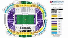Us Bank Seating Chart Metallica Us Bank Stadium Seating Chart With Rows And Seat Numbers