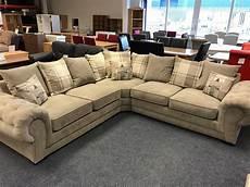 venice large corner sofa grey fabric the clearance zone