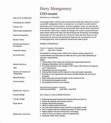 Ceo Resume Sample Doc Ceo Resume Template 11 Free Samples Examples Format