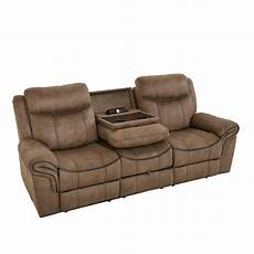 knoxville reclining sofa w drop console by standard