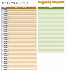 Daily Schedule Excel Template Free Daily Schedule Templates For Excel Smartsheet