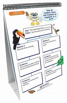 Common Core Flip Charts Ela Common Core Standards Gr 6 Strategies Flip Charts Np