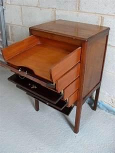 mahogany four drawer sheet cabinet 88804