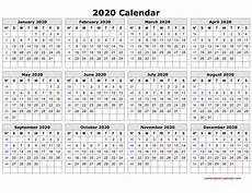 Page A Day Calendar 2020 Best Of 2020 Calendar Printable One Page Calendar 2019