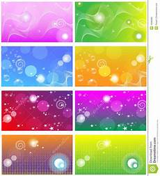 Background For Business Cards Business Card Templates Backgrounds Stock Vector