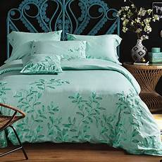luxury embroidered bed linen 4pcs 60s 100 sateen cotton