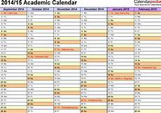 Master Calendar Template Academic Calendars 2014 2015 Free Printable Excel Templates
