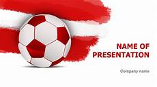 Football Powerpoint Template Download Free Austrian Soccer Ball Powerpoint Template For