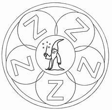 www kinder malvorlagen buchstaben mandala kostenlose malvorlage mandalas mandala buchstabe z zum