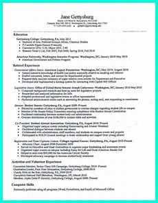 Creating A Resume Template The Perfect College Resume Template To Get A Job