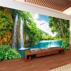 home decor wall murals custom 3d wall mural wallpaper home decor green mountain