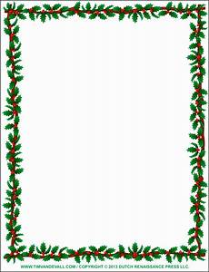 Holiday Borders For Microsoft Word 5 Free Christmas Border Template Sampletemplatess