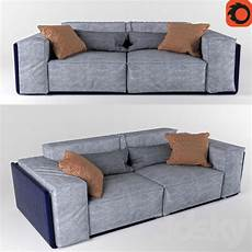 6ft Sofa 3d Image by 3d Models Sofa Sofa Loft