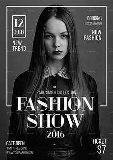 Fashion Show Flyers Fashion Show Flyer Graphicriver Fashion Poster Design