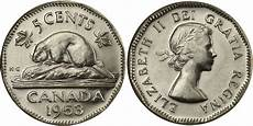 Canadian Nickel Value Chart Coins And Canada 5 Cents 1953 Canadian Coins Price