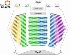 Stern Theater Seating Chart Theatre Seating Chart Kelowna Community Theatre