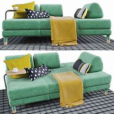 Sofa Side Pocket 3d Image by 3d Model Flottebo Sofa Bed With Side Table Cgtrader