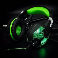 Gaming Headphones With Lights 3 5mm Gaming Headphone Gaming Headset Casque Gamer Stereo