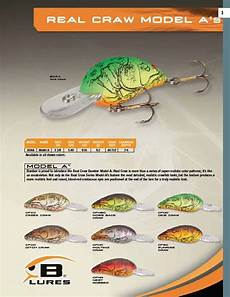 Bomber Long A Color Chart Bomber Model A Real Craw Color Chart The Bomber Model A