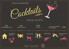 Cocktail Party Invitation 21 Stunning Cocktail Party Invitation Templates Amp Designs