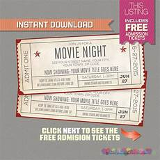 Ticket Invite Template Free Blank Movie Ticket Invitation Template Free Download Aashe