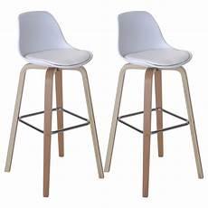 coppia sgabelli coppia sgabelli hwc a89 legno 45x44x97cm versione a scelta