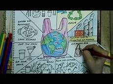 World Environment Day Chart World Environment Day 2018 Drawing Poster Say No To