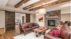 Amazing Basements Designs 20 Amazing Finished Basements That Have A Fireplace