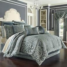 sicily teal 4 comforter set