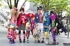 super cute colorful harajuku street fashion